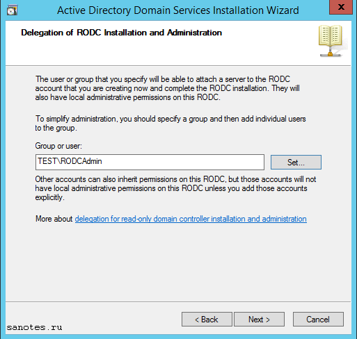 server_manager_RODC Install8