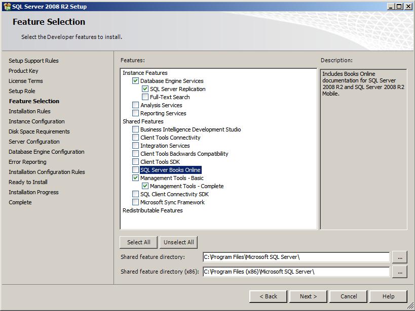 Sql server 2008 r2 установка для 1с 8 1с 8.2 настройка ms 5145