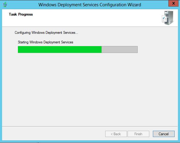 WDS Configure Step 5
