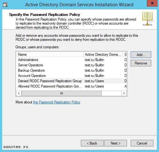 server_manager_RODC Install7