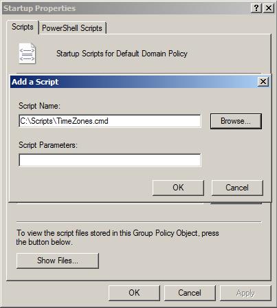 Startup Scripts GPO